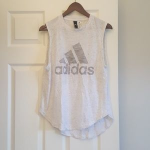 Adidas workout athletic tank top